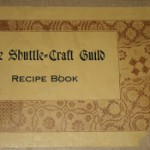 a label from the cover of the Shuttle-Craft Guild Recipe Book