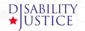 DisabilityJusticeLogo
